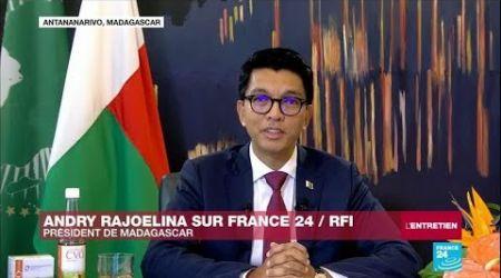 """A. Rajoelina sur France 24 : """"Le problème du remède Covid-Organic, c'est qu'il vient d'Afrique"""""""