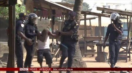 Colère à Abidjan contre la candidature de Ouattara - BBC Infos