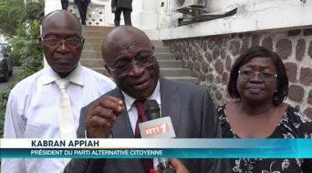 Dialogue politique : le Premier Ministre rencontre les partis et groupements politiques