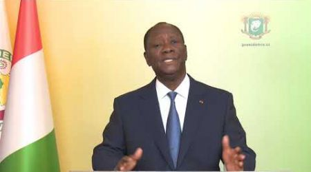 L'intégralité du message à la Nation de Président Alassane #Ouattara du 07 mai 2020. #RTIinfo