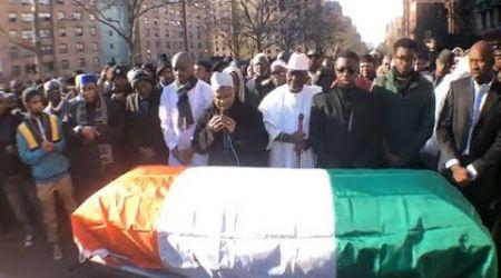 New York : Prière mortuaire sur la dépouille du Colonel Major Issiaka Ouattara dit Wattao
