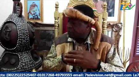 LA7TV la médiation du ROI TCHIFFY ZIE sauve l'école les examens et concours 2019 en Côte d'Ivoire