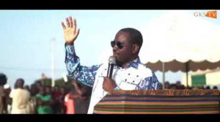Soro Guillaume  à Niakara « La gendarmerie nationale ne doit pas faire de la politique »