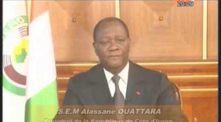 Nouvel an 2013: Les voeux du Président de la République Alassane Ouattara