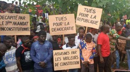 Inhumation des jeunes ivoiriens tués lors des manifestations en Côte d'Ivoire | Cas de Daoukro