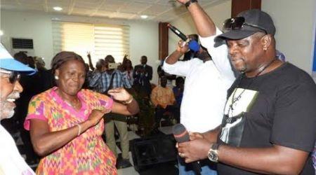 Quand Simone Gbagbo libère en zouglou à la journée du militant