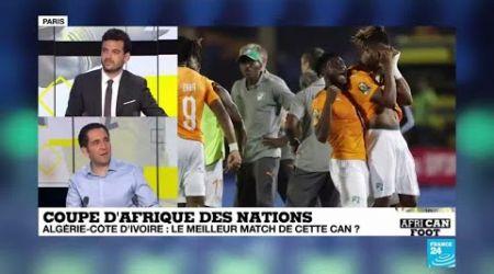 CAN-2019 : L'Algérie s'offre la Côte d'Ivoire au terme du meilleur match de la compétition