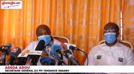 Le FPI invite le chef de l'état et le RHDP à saisir « une opportunité historique...»