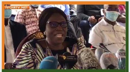 """Simone Gbagbo monte au créneau et parle à OUATTARA:  """"Ta candidature est anticonstitutionnelle"""""""