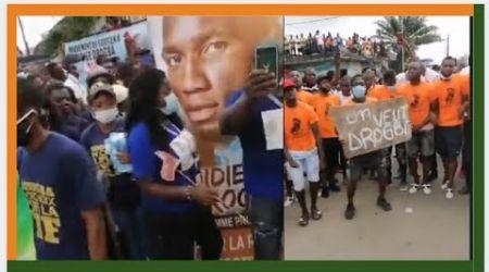 Élection FIF: Le dépôt de la candidature de Drogba transformée en une véritable haie d'honneur