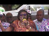 HAUT SASSANDRA 2019: ZAÏBO: MADAME SIMONE EHIVET GBAGBO APPELLE A LA REFORME DE LA CEI